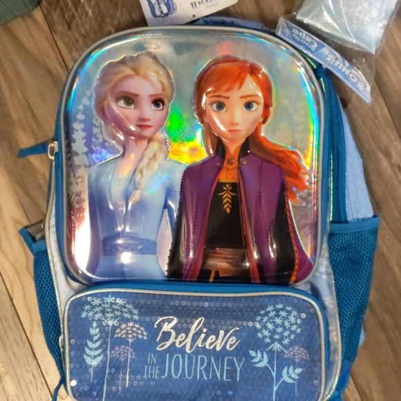 Disney Frozen II Backpack with Bonus Cape